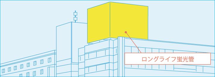 ロングライフ蛍光管イメージ